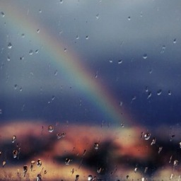 Running to a Rainbow..